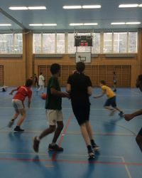 Basketturnier 8. Stufe 2016